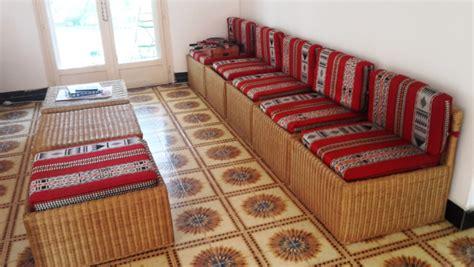 canapé en osier canapé en osier à djibouti