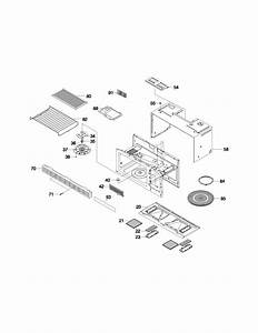 Frigidaire Fmv145ks2 Countertop Microwave Parts