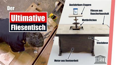 Fliesentisch Zentralrat by Der Getunte Fliesentisch Baufun