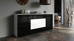 Sideboard Schwarz Weiß : sideboard schwarz wei sideboard cabinet chest of drawers led valencia black high 17 best ~ Sanjose-hotels-ca.com Haus und Dekorationen