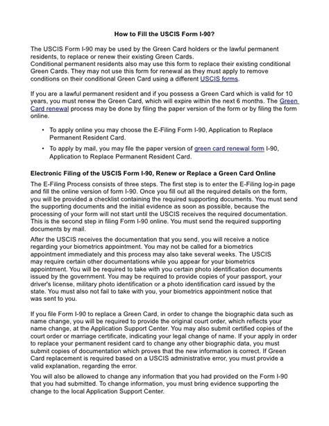uscis green card renewal form i 90 mamiihondenk org
