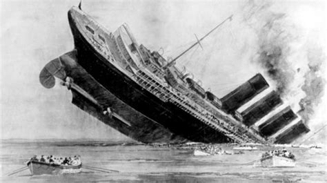 100 years since the sinking of lusitania granada itv news