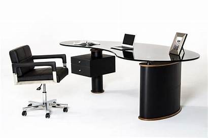 Desk Office Modern Walnut Desks Furniture Modrest