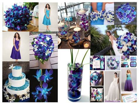 Blue Orchid Color Inspiration... Love This Blue/teal