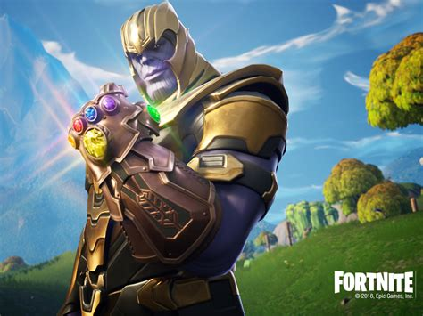 Download Thanos In Fortnite Battle Royale 1280x2120