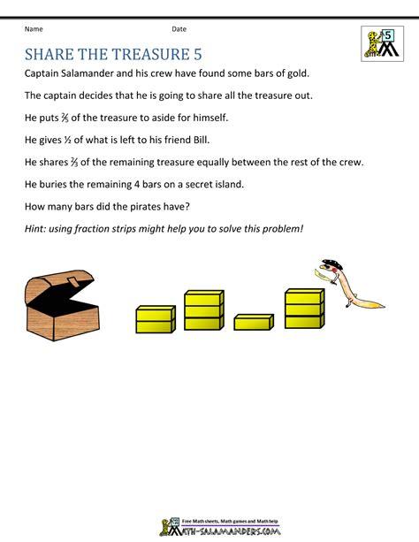math problem solving skills worksheets them and