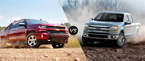 2016 Chevy Silverado vs 2016 Ford F 150