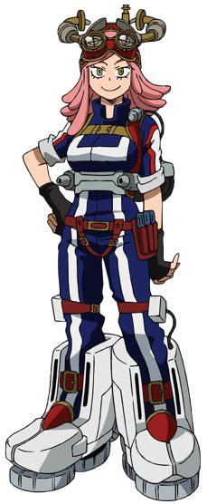 mei hatsume  hero academia wiki fandom