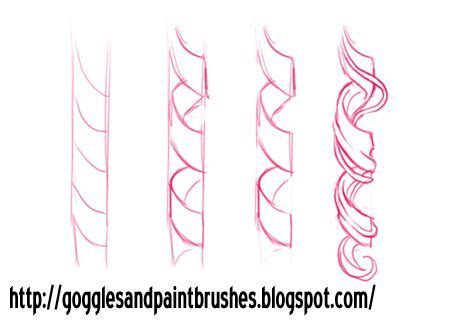 draw ringlets google search drawings   draw