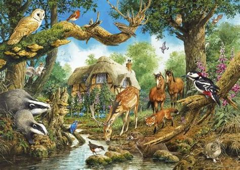 Woodland Animal Wallpaper - woodland creature wallpaper wallpapersafari