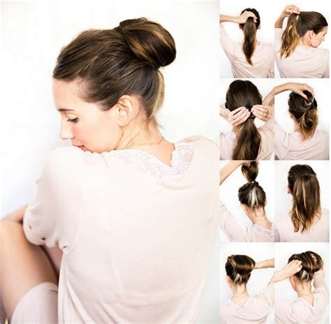 Easy Updo Hairstyle Tutorials 10 easy updo hairstyles tutorials popular haircuts