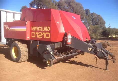 For Sale New by New D1210 8x4x3 Large Square Baler For Sale