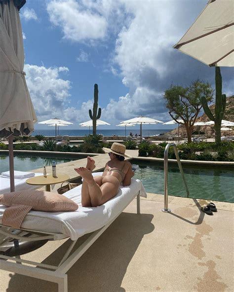 Lucy Hale Soaks Up Sun In A Leopard Print Bikini | The ...