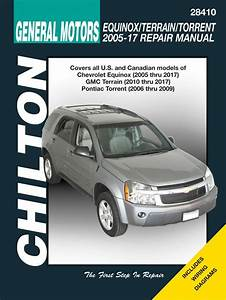 Chevrolet Equinox  U0026 Pontiac Torrent Chilton Manual  2005