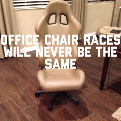 so i m turning my race seat into an office chair