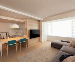 Modern Apartment Design Maximizes Space Minimizes Distraction by Small Space Interior Design Ideas