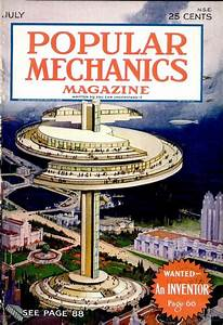 Cover of Popular Mechanics july 1930 | Visions of the ...