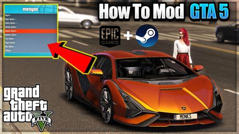 HOW TO MOD GTA 5 - EPIC GAMES & STEAM (HINDI)   SIMPLE AND ...