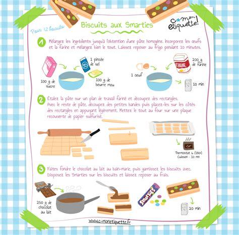 atelier cuisine enfants recette biscuits aux smarties atelier biscuits et