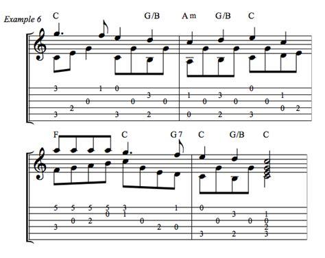 deck the halls guitar chords g deck the simple fingerpicking arrangement