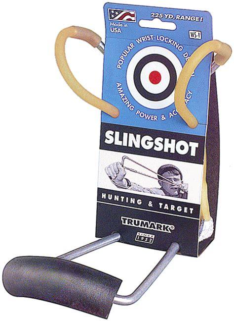 Trumark Ws 1 Original Wrist Rocket Slingshot