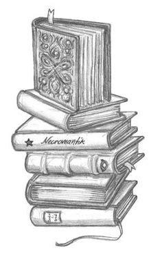 Stack of Books Tattoo by Tirza Tattoo   Book tattoo