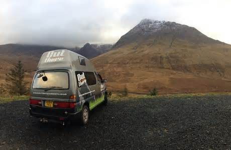 Outthere Campervan & Motorhome Hire · Inverness, Highland