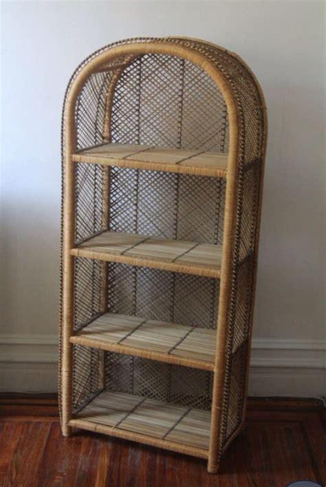 Vintage Wicker Storage Shelf   Home Stuff   Pinterest