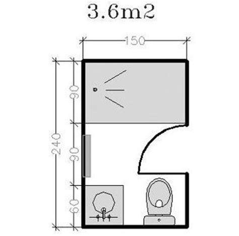 taille minimum chambre plan pour salle d 39 eau et salle de bains de 2 à 5m