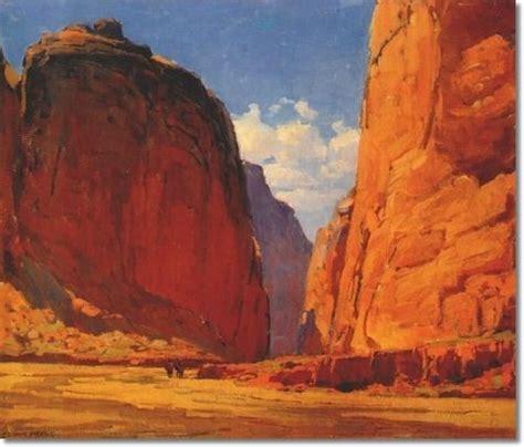 Edgar Alwyn Payne Canyon Portals By Edgar Alwyn Payne