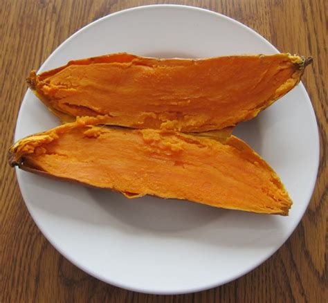 cooking sweet potatoes in microwave how to cook sweet potatoes in a microwave melanie cooks