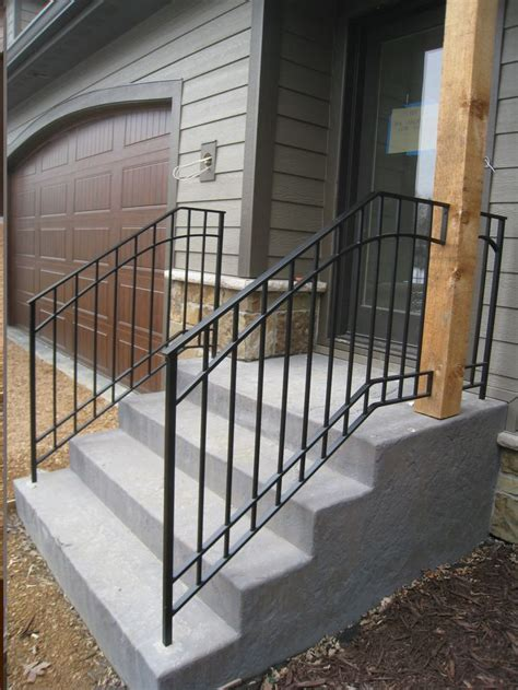 outdoor banister best 20 iron handrails ideas on