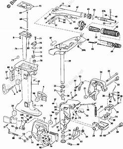 Evinrude Outboard Parts By Year 1984 Oem Parts Diagram For Midsection