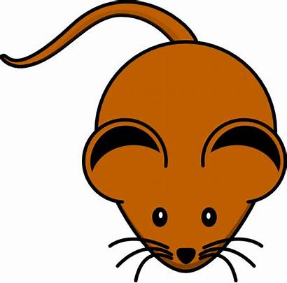 Brown Mouse Clip Clipart Clker