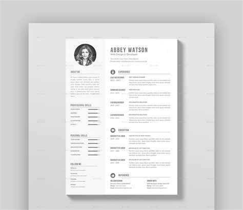 Beautiful Resume Templates by 20 Awesome Resume Templates With Beautiful Layout Designs