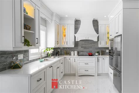 transitional kitchens castle kitchens