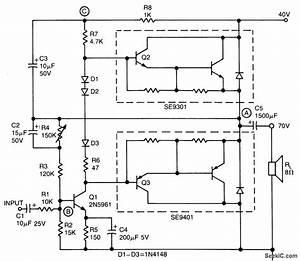 Low Cost 20 W Audio Amplifier