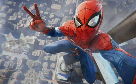 wallpaper spider man marvel comics playstation