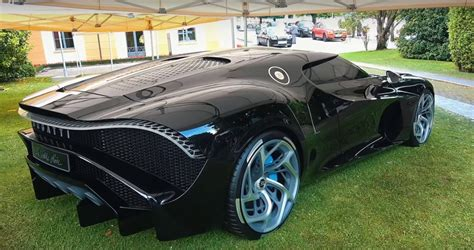 I know you said bugatti. daily timewaster: New Bugatti la Voiture Noire, $12.5M