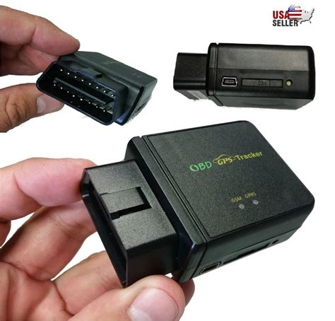 Tracking Device For by Obd Ii Gps Tracker Realtime Car Truck Vehicle Tracking Gsm