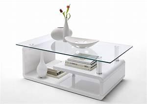 Wohnzimmertisch Weiß Hochglanz : couchtisch raffaele wohnzimmertisch glastisch wei hochglanz lack 4762 ebay ~ Indierocktalk.com Haus und Dekorationen