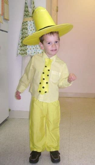 Costumes Literary-Inspired u2014 Homecrafted Halloween | Curious george birthday Costumes and ...