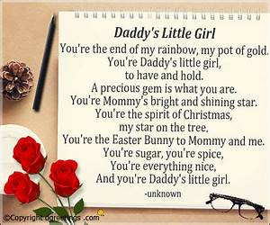 Fathers Day Poems From Grown Daughter | www.pixshark.com ...