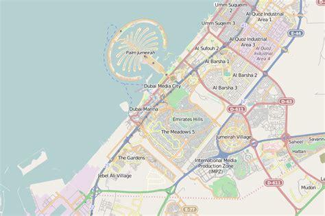 dubai map arab tourist centre area maps miami dade geography event health emirates united florida county surrounding