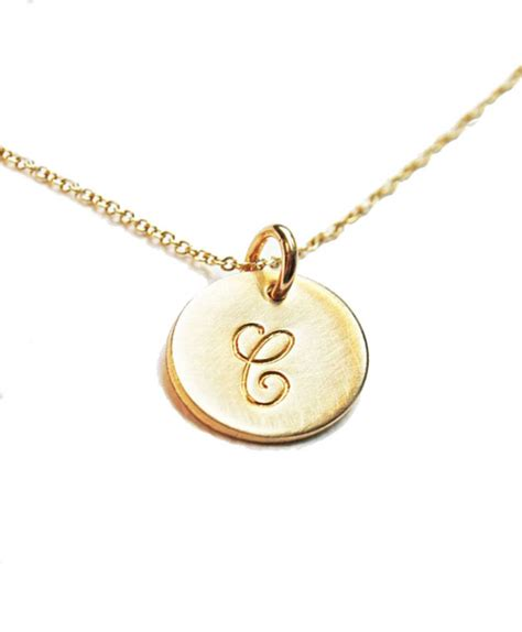 aliexpress buy gold and silver mens embossed sted aliexpress buy simple initials necklace women gold