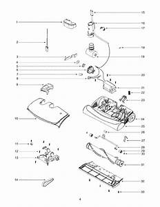 Electrolux Canister Vacuum Powerhead Parts