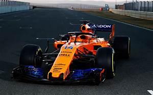 Wallpaper McLaren MCL33, F1 2018, Formula One, F1 cars