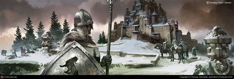Agot Lcg 2 0 Photoshop Template by Lords Of Winter By Tomasz Jedruszek 2d Cgsociety