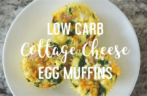 carb cottage cheese egg muffins healthy happy
