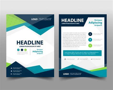 plantilla de folleto de negocios  espacio  texto